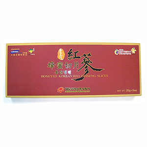 Honeyed Red Ginseng Slices