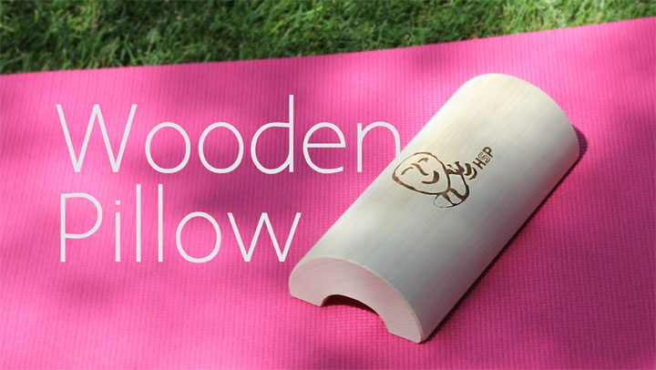 Stress Release & Circulation with the Wooden Pillow (Neck & Shoulders)